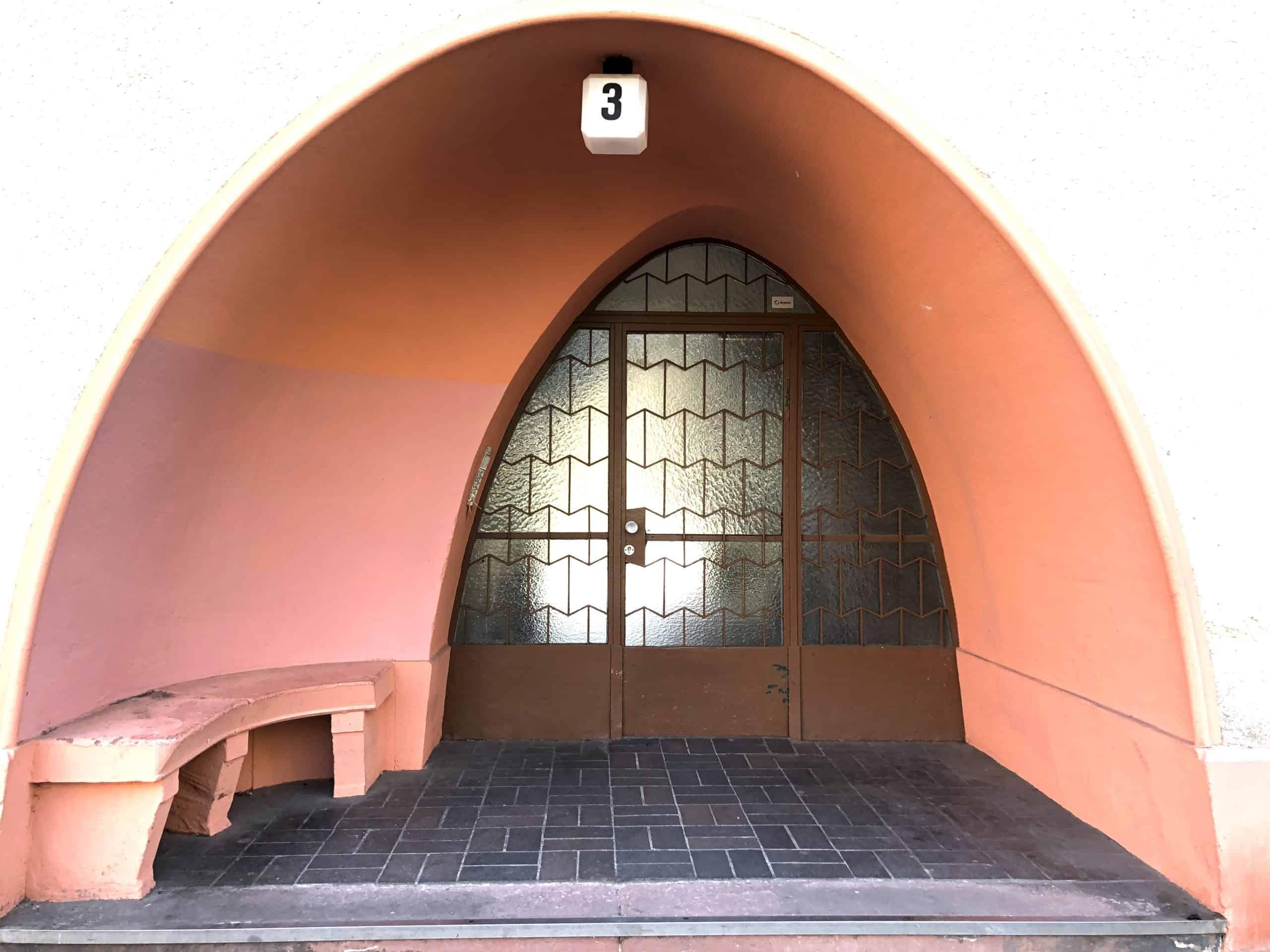 Eingang zu Ceciliengärten
