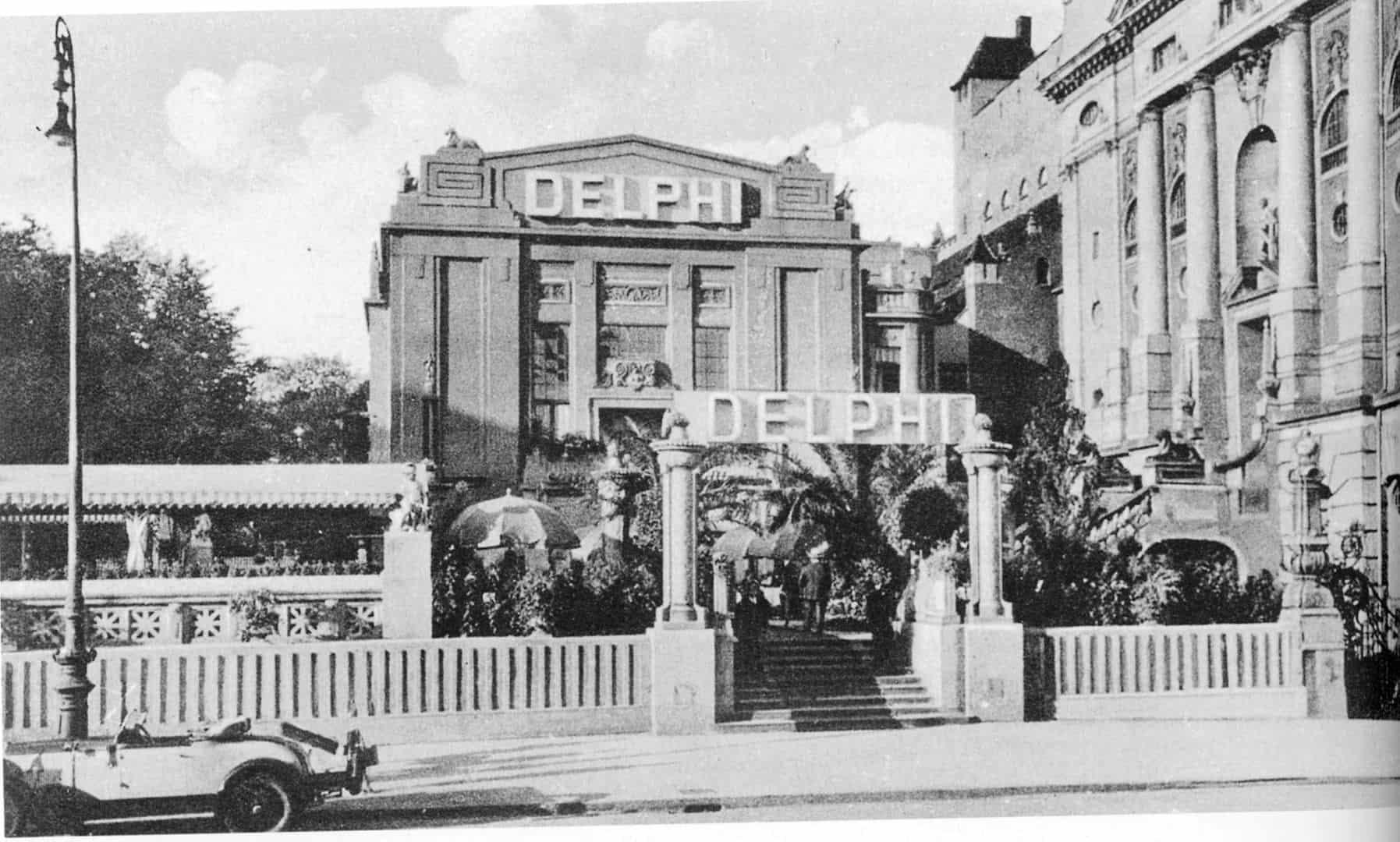 Eingang zum Delphi